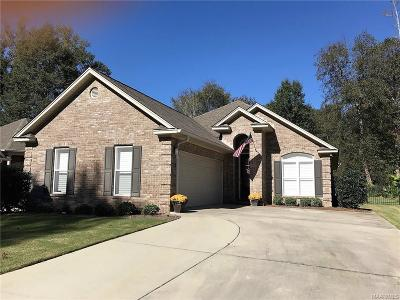 Wetumpka Single Family Home For Sale: 945 River Birch Circle
