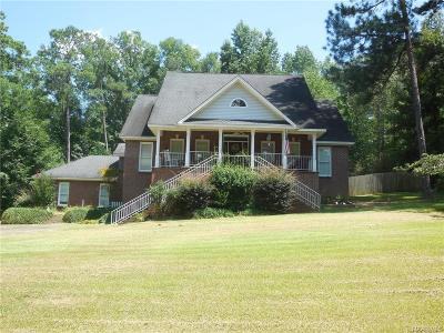 Wetumpka Single Family Home For Sale: 145 Trotters Mill Road