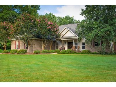 Prattville Single Family Home For Sale: 1004 Longfield Drive