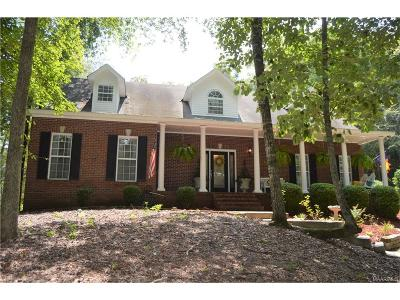 Wetumpka Single Family Home For Sale: 390 River Ridge Road