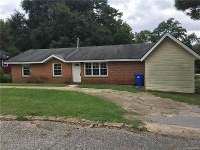 Prattville Single Family Home For Sale: 112 Cone Street