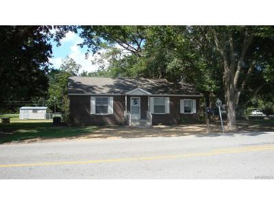 Wetumpka Single Family Home For Sale: 1614 Fitzpatrick Rd.