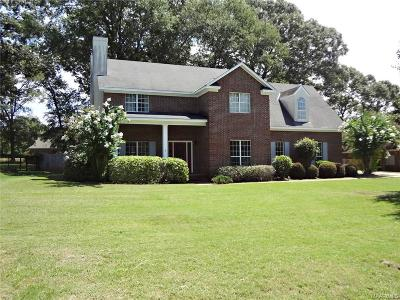 Wetumpka Single Family Home For Sale: 1176 Old Ware Road