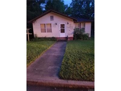 Montgomery AL Single Family Home For Sale: $20,000