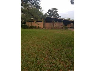 Montgomery AL Single Family Home For Sale: $12,000