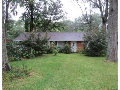 Prattville Single Family Home For Sale: 802 Wingard Street