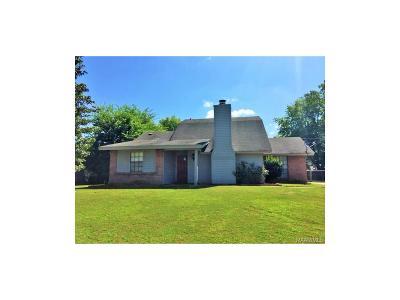Montgomery AL Single Family Home For Sale: $116,900
