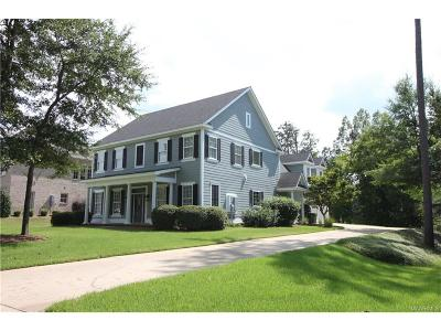 Montgomery AL Single Family Home For Sale: $399,000