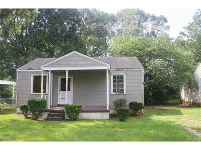 Montgomery AL Single Family Home For Sale: $9,000