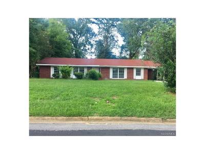 Montgomery AL Single Family Home For Sale: $45,800