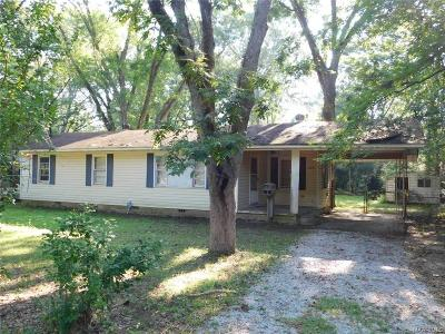 Wetumpka Single Family Home For Sale: 205 S Pine Street