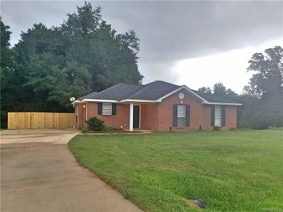 Wetumpka Single Family Home For Sale: 16 Taylor Hill Court