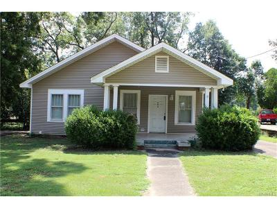 Wetumpka Single Family Home For Sale: 803 W Tallassee Street