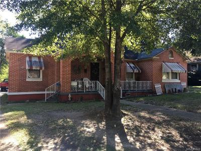 Wetumpka Single Family Home For Sale: 807 W Tallassee Street