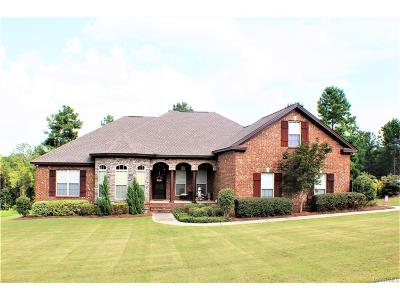 Wetumpka Single Family Home For Sale: 239 Southern Hills Ridge