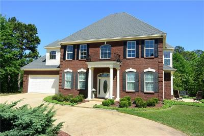 Wetumpka Single Family Home For Sale: 580 Hidden Forest Trail