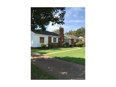 Montgomery Single Family Home For Sale: 2748 Ashley Avenue