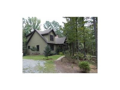 Wetumpka Single Family Home For Sale: 4484 Old Salem Road