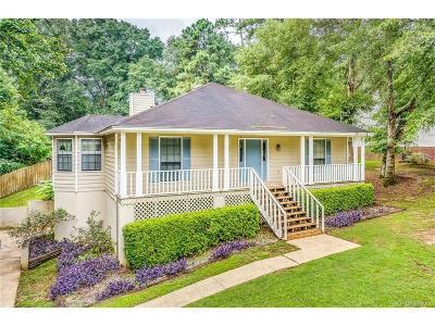 Millbrook Single Family Home For Sale: 3830 Hampton Oaks Drive