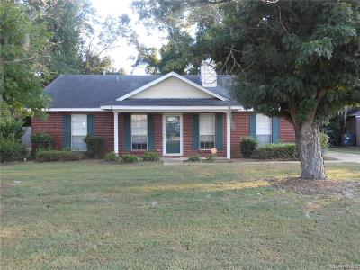 Montgomery AL Single Family Home For Sale: $99,900