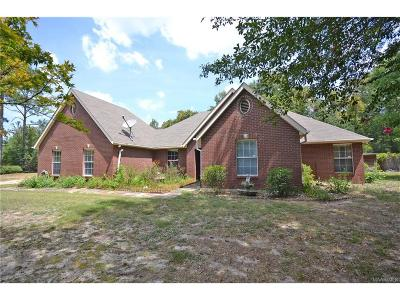 Wetumpka Single Family Home For Sale: 500 Timberlane Road