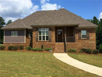 Wetumpka Single Family Home For Sale: 88 Timber Ridge