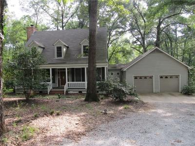 Wetumpka Single Family Home For Sale: 452 Doe Lane