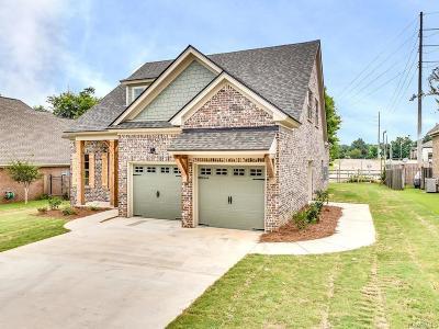 Prattville Single Family Home For Sale: 1670 Pebble Creek Drive