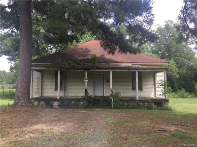 Wetumpka Single Family Home For Sale: 208 N Pine Street