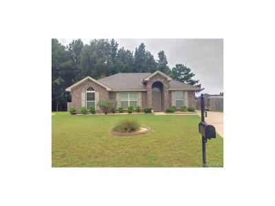 Wetumpka Single Family Home For Sale: 30 Cotton Gin Court