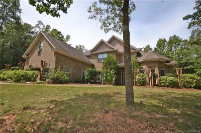 Wetumpka Single Family Home For Sale: 73 Elkmont Way