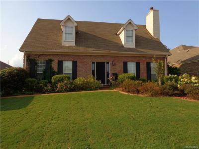 Prattville Single Family Home For Sale: 1903 Chancellor Ridge Road