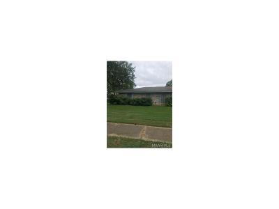 Montgomery AL Single Family Home For Sale: $95,000