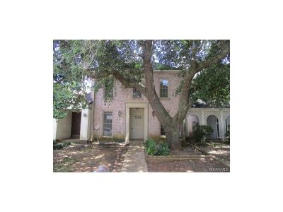 Montgomery AL Condo/Townhouse For Sale: $34,000