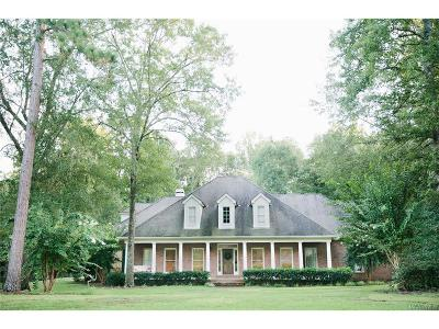Wetumpka Single Family Home For Sale: 420 Olympic Drive
