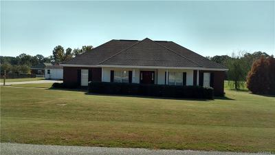 Wetumpka Single Family Home For Sale: 79 Meadowlane Court