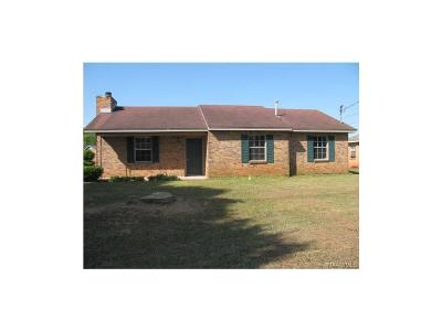 Millbrook Single Family Home For Sale: 1595 Deatsville Highway