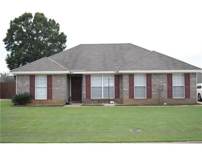 Wetumpka Single Family Home For Sale: 235 Cotton Lakes Boulevard