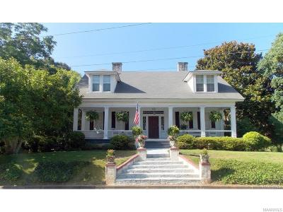 Wetumpka Single Family Home For Sale: 209 W Coosa Street