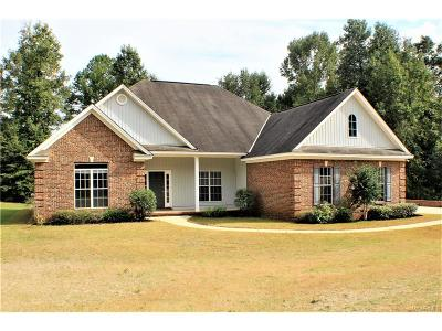 Wetumpka Single Family Home For Sale: 135 Little Doe Lane