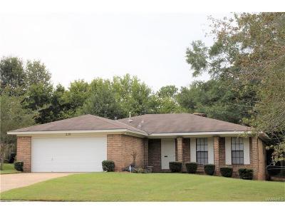 Millbrook Single Family Home For Sale: 239 Azalea Drive