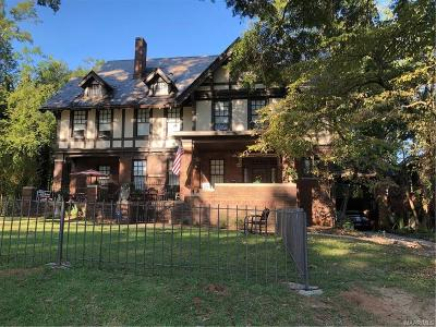 Montgomery Single Family Home For Sale: 1324 S Perry Street