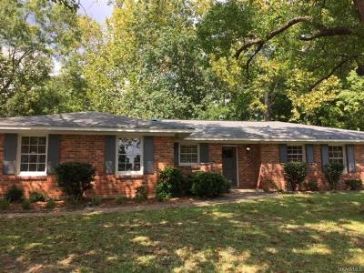 Montgomery AL Single Family Home For Sale: $134,900