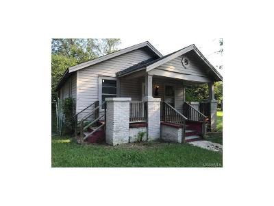 Montgomery AL Single Family Home For Sale: $16,999