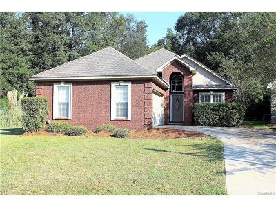 Wetumpka Single Family Home For Sale: 965 River Birch Circle