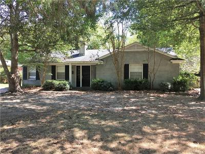Montgomery AL Single Family Home For Sale: $115,000