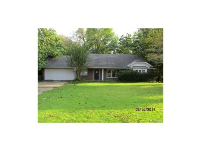 Montgomery AL Single Family Home For Sale: $65,000