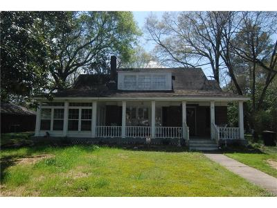 Wetumpka Single Family Home For Sale: 601 W Tallassee Street