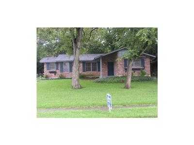 Montgomery Single Family Home For Sale: 4506 Wake Forest Drive