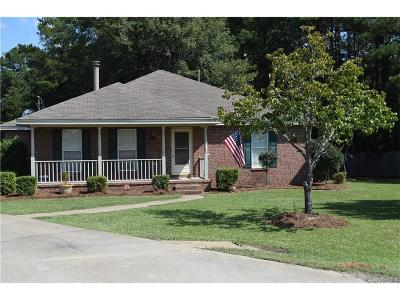 Pike Road Single Family Home For Sale: 262 Lakeshore Drive